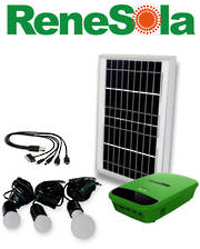 RENESOLA RML-03 10W Solar Charging and Lighting System