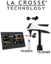 328-2314 La Crosse Professional Weather Station with Lightning Detector