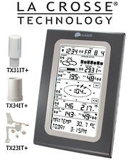 WS3650IT La Crosse Interactive Weather Station with touch screen and PC connection